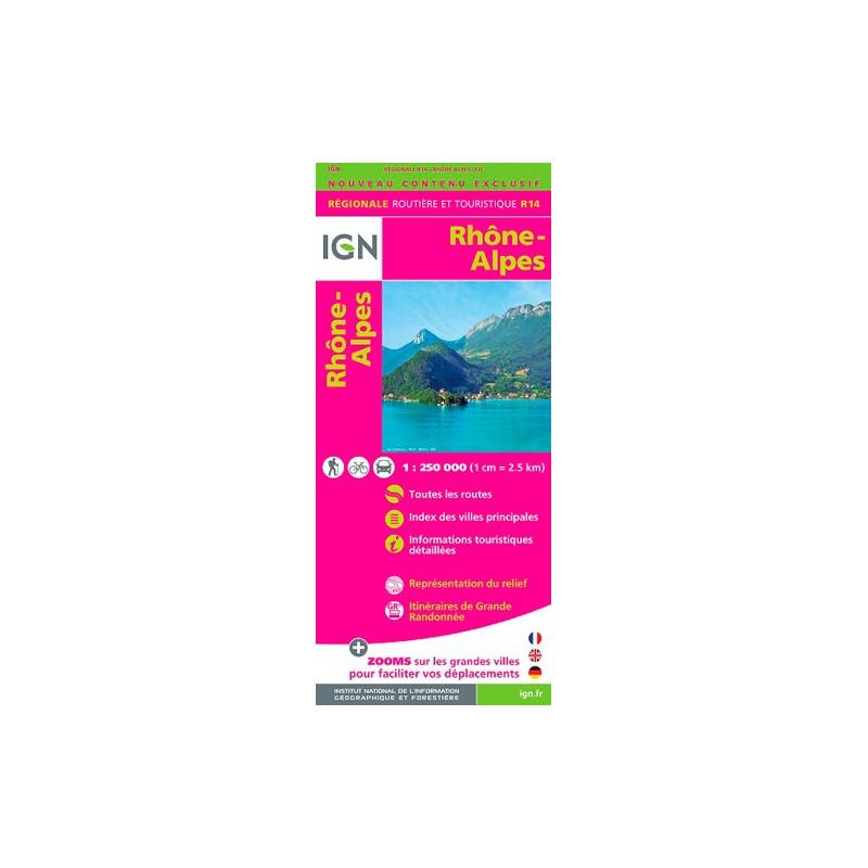 Rhône-Alpes 2015 - IGN R14