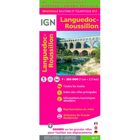 Languedoc-Roussillon 2015 - IGN R17