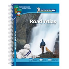 Atlas routier Amérique du Nord, USA, Canada, Mexique - Michelin