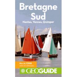 Achat Geoguide Bretagne Sud Nantes, Vannes, Quimper Guide Gallimard