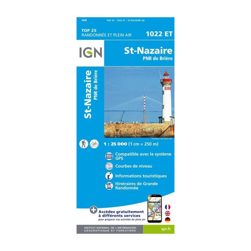 St-Nazaire - IGN - 1022 ET