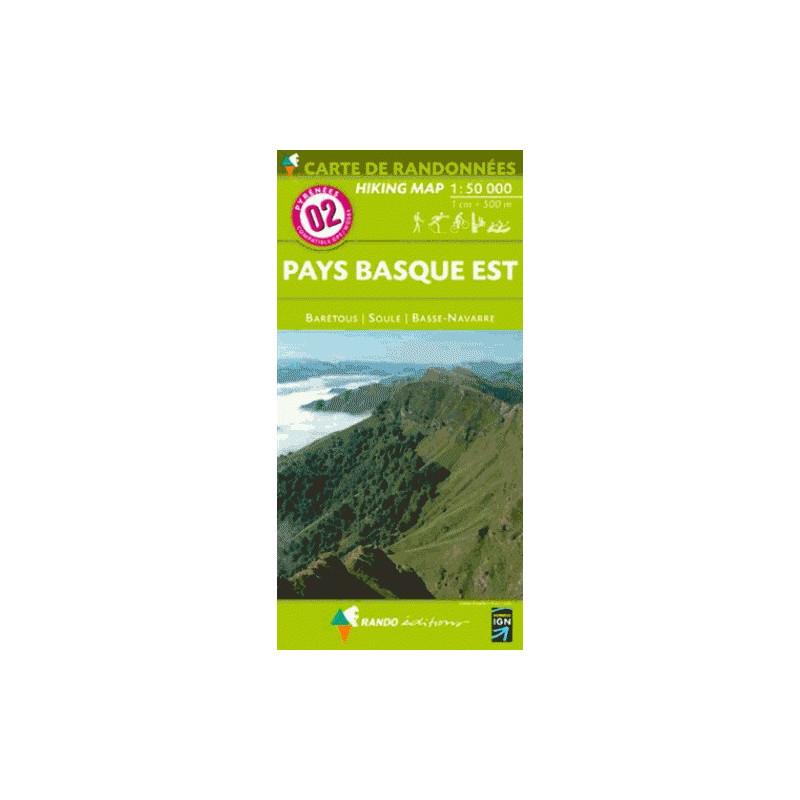 Pays Basque Est - Randoéditions N°2