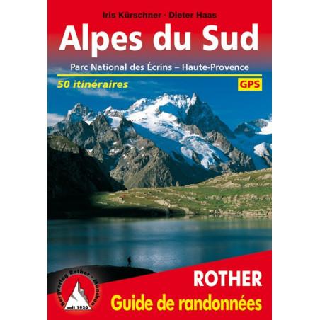 Achat Topo guide randonnées - Alpes du sud : Ecrins, Queyras, Ubaye - Rother