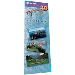 Topomap 3D Massif de la Chartreuse - Face au Sud