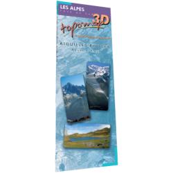 Topomap 3D les Aiguilles Rouges - Face au Sud