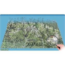 Carte panoramique - Béarn-Bigorre-Vallée d'Aure -Face au Sud