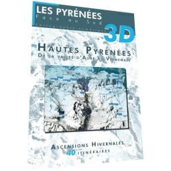 Hautes Pyrénées 3D, de la vallée d'Aure au Vignemale (hiver) - Face au Sud
