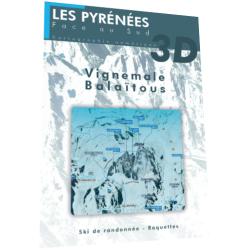 Vignemale, Balaïtous 3D (hiver) - Face au Sud