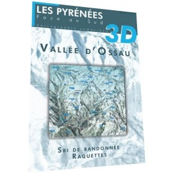 Vallée d'Ossau 3D (hiver) - Face au Sud