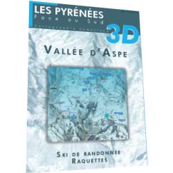 Vallée d'Aspe 3D (hiver) - Face au Sud