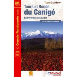 Achat Topo guide randonnées - Tours et Ronde du Canigó - FFRP 6600
