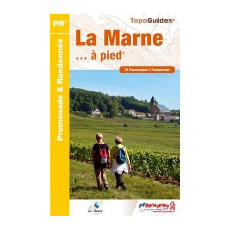 Achat Topo guide randonnées - La Marne... à pied® - FFRP D051
