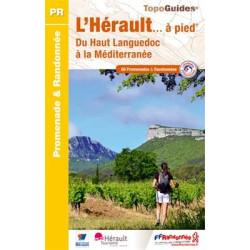 Achat Topo guide randonnées - L'Hérault... à pied - FFRP D034