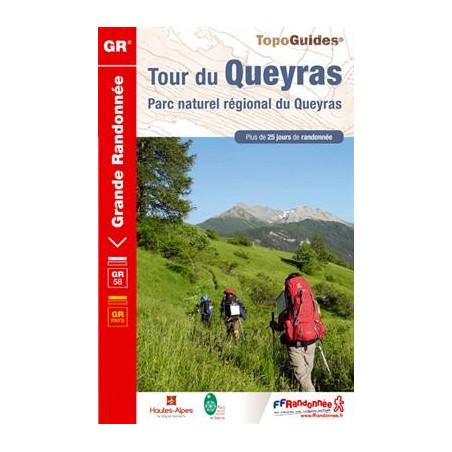 Topo guide randonnées - Tour du Queyras - FFRP 505
