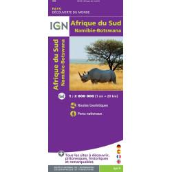 Carte Ign Afrique Du Sud.Achat Carte Routiere Ign Afrique Du Sud Namibie Botswana