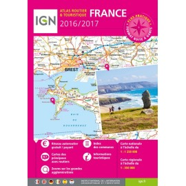Atlas routier France 2014 -2015 - IGN