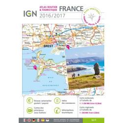 Atlas routier France (prix mini)2014-2015 - IGN