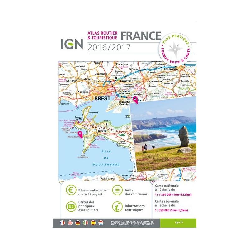 Achat Atlas routier France 2015-2016 ( prix mini ) - IGN
