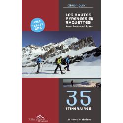 Les Hautes Pyrénées en raquettes - Tome 1 : Aure, Louron, Adour - Version Originale