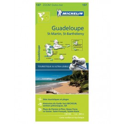 Guadeloupe, Saint Martin, Saint Barthélemy - Michelin Zoom 137