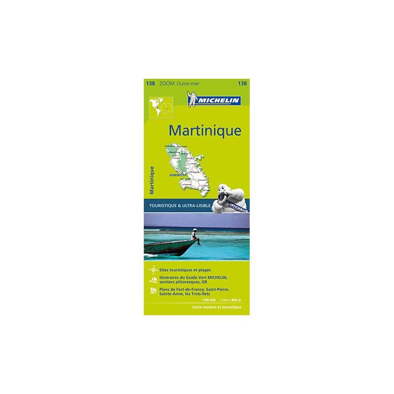 Martinique - Michelin Zoom 138