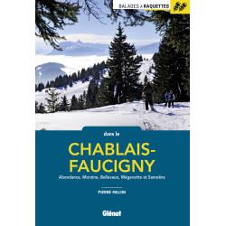 Balades à raquettes dans le Chablais-Faucigny - Glénat