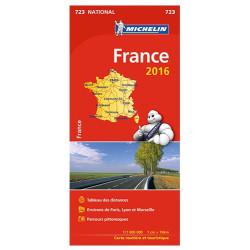 Achat Carte routière Michelin - France livret 2018 - 723