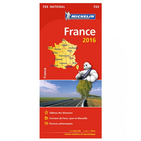 France livret 2016 - Michelin 723