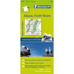 Achat Carte routière Michelin - Forêt Noire, Alsace, Vallée du Rhin - Zoom 131