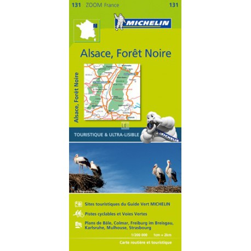 Forêt Noire, Alsace, Vallée du Rhin 2016 - Michelin Zoom 131