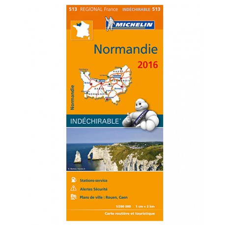Normandie 2016 - Michelin 513