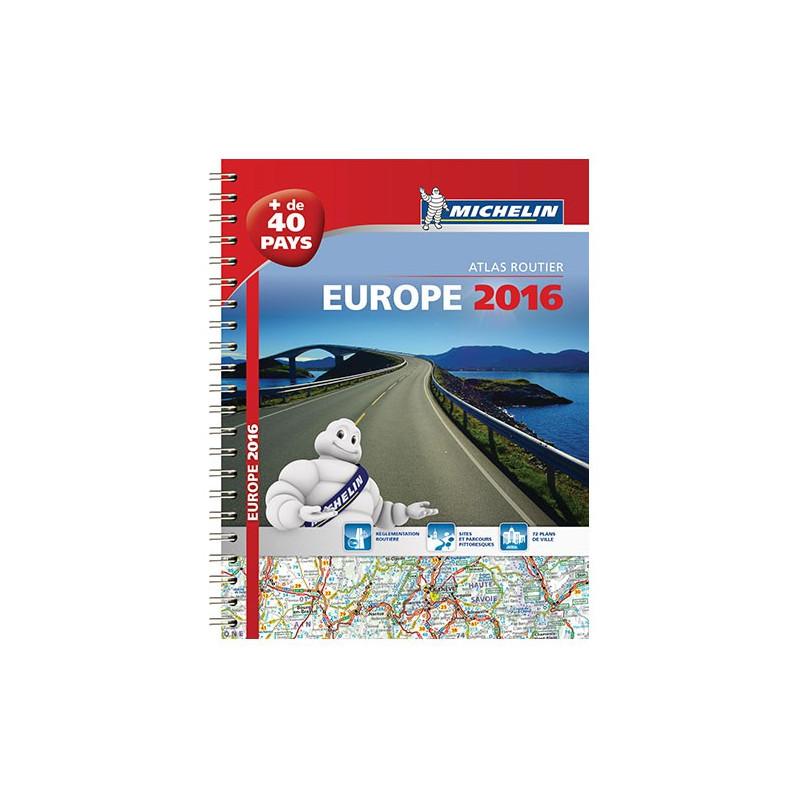 Atlas routier et touristique - Europe 2016 - Michelin