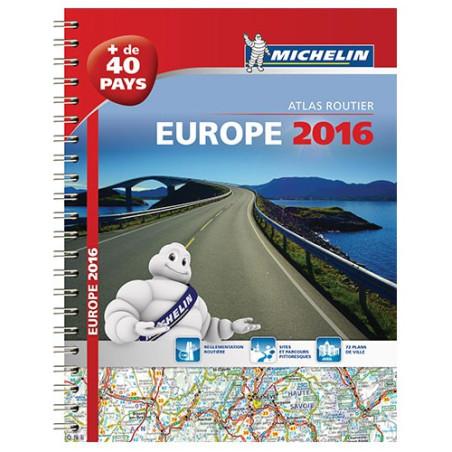 Achat Atlas routier et touristique - Europe 2018 - Michelin
