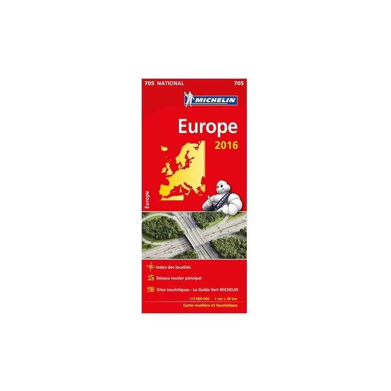 carte europe 705