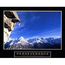 Persévérance, l'escalade