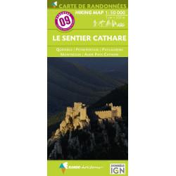 Achat Carte randonnées - Pays Basque Ouest - Randoéditions N°1