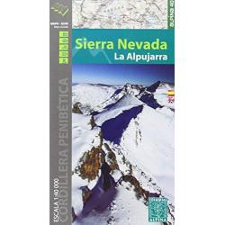 Achat Cartes randonnées Sierra Nevada, La Alpujarra - Alpina