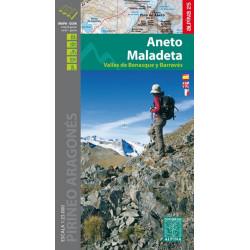 Achat Cartes randonnées Aneto, Maladeta - Alpina