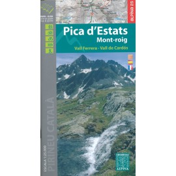 Achat Cartes randonnées Pica Estats - Alpina