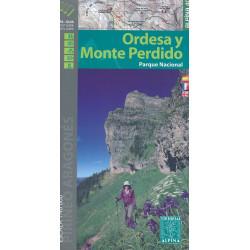 Achat Cartes randonnées Ordesa Mont Perdu - Alpina