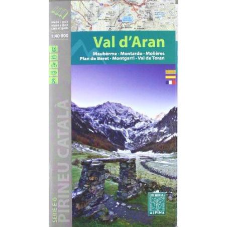 Achat Cartes randonnées Val d'Aran - Alpina