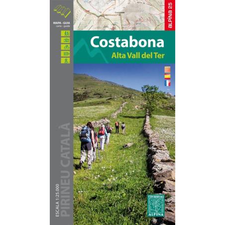 Achat Cartes randonnées Costabona - Alpina