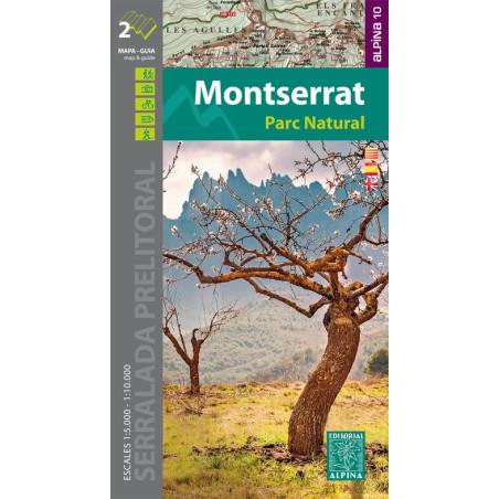 Achat Cartes randonnées Montserrat - Alpina
