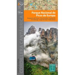 Achat Cartes randonnées Picos de Europa - Alpina