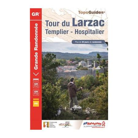 Achat Topo guide Tour du Larzac, Templier-Hospitalier - FFRP