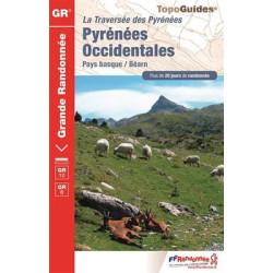 Achat Topo guide randonnées - Pyrénées Occidentales - GR10 - FFRP 1086