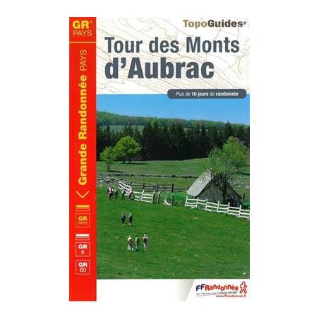 Achat Topo guide randonnées - Tour des monts d'Aubrac - FFRP 616