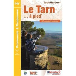 Achat Topo guide randonnées - Le Tarn... à pied®  - FFRP D081