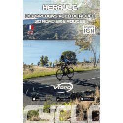 Hérault, 30 parcours vélo de route - Vtopo