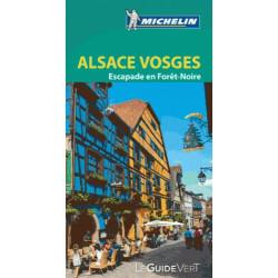 Guide Vert Alsace et les Vosges - Michelin